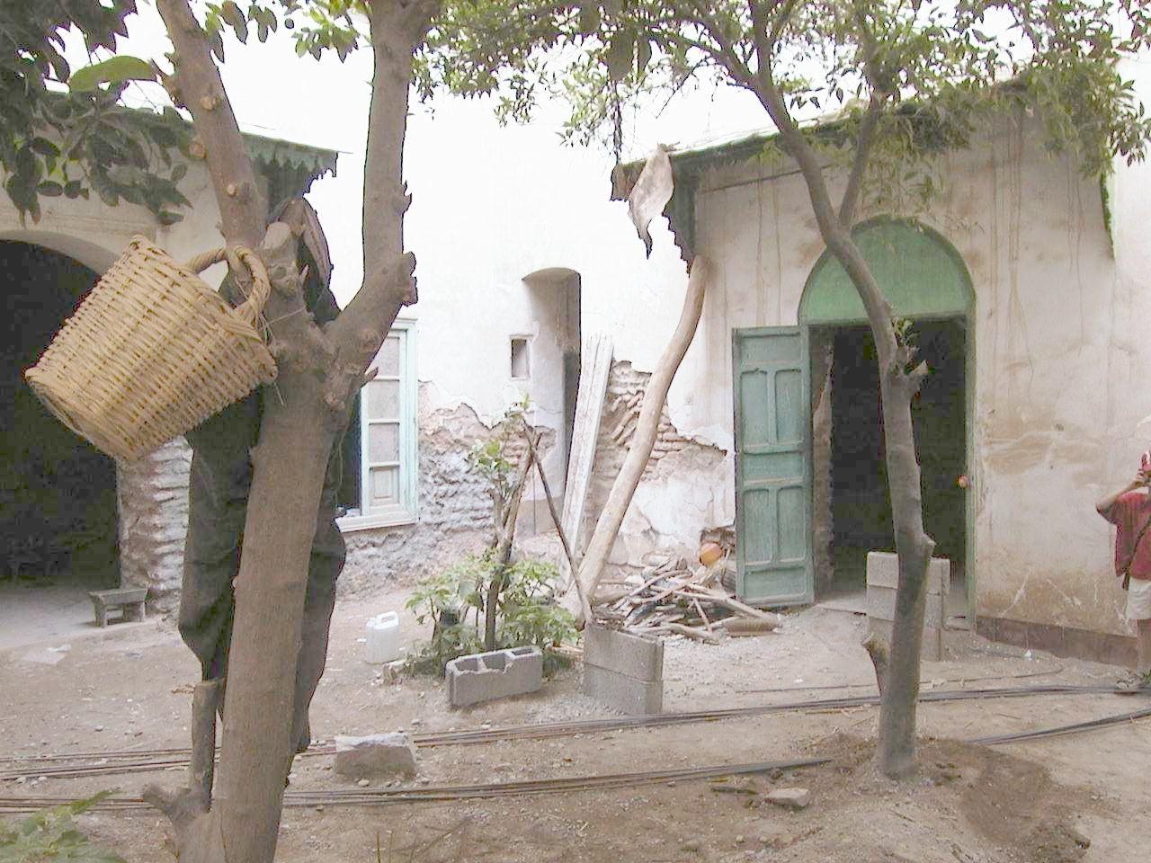 was ist ein riad riad in der medina von marrakesch la maison nomade. Black Bedroom Furniture Sets. Home Design Ideas