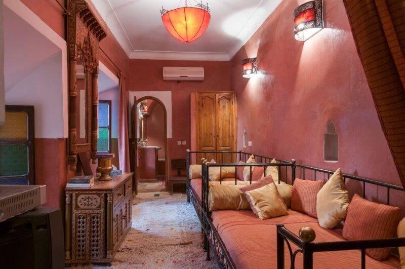 Zweibett-Zimmer Fortune im Riad La Maison Nomade
