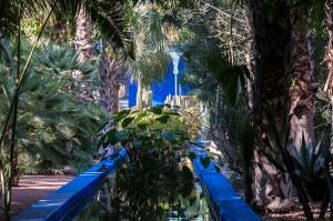 Mit dem Riad La Maison Nomade in Marrakesch zum Jardin Majorelle Garten
