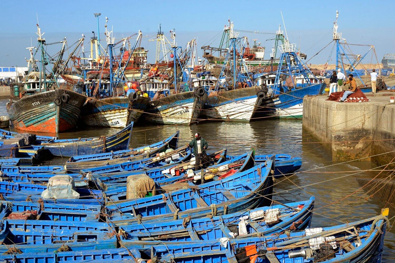 Mit dem Riad La Maison Nomade nach Essaouira in den alten Fischerhafen