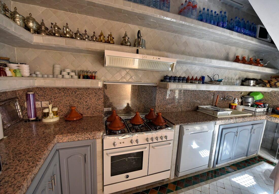Restaurantküche Riad La Maison Nomade Marrakesch