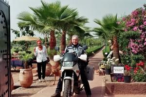 MK unser Gast vom Riad La Maison Nomade Marrakesch in der Safranfarm