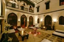 Patio in einem marokkanischen Hammam