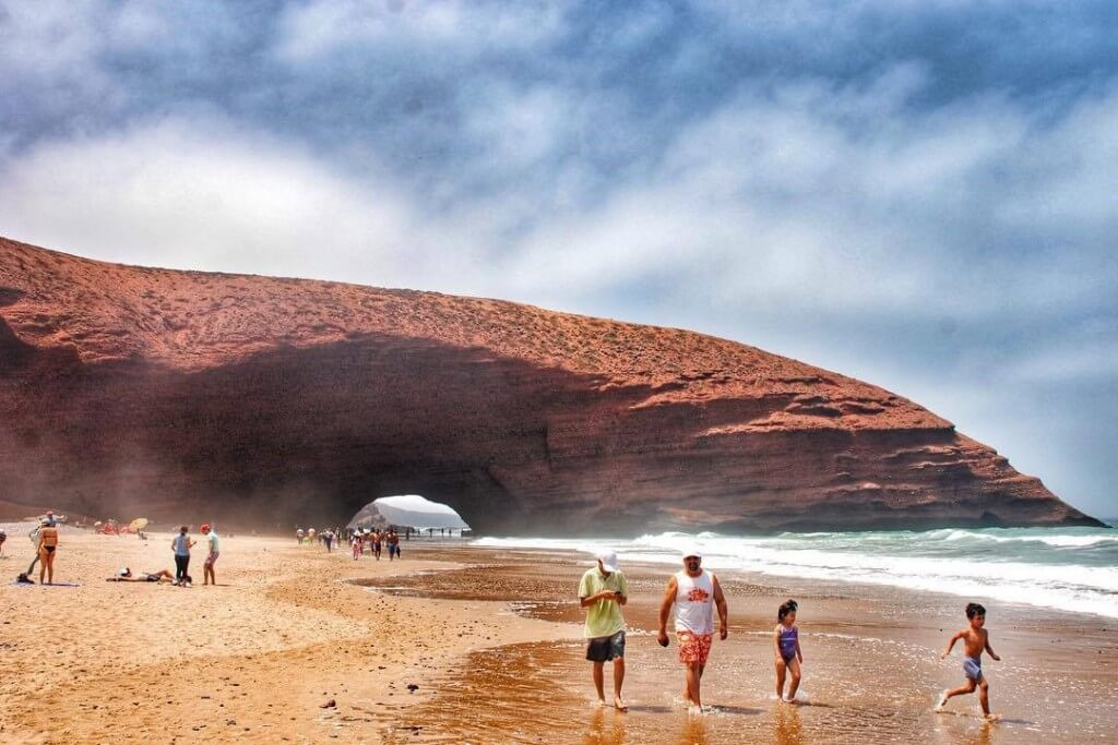Strand Leghzira bei Sidi Ifni