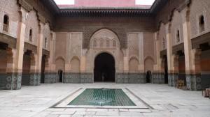 Mit dem Riad La Maison Nomade zur Koranschule Medersa ben Youssef marrakesch