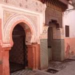 Nordeingang in die Moschee Sidi Benslimane in Marrakesch nur 100 m vom Riad La Maison Nomade entfernt