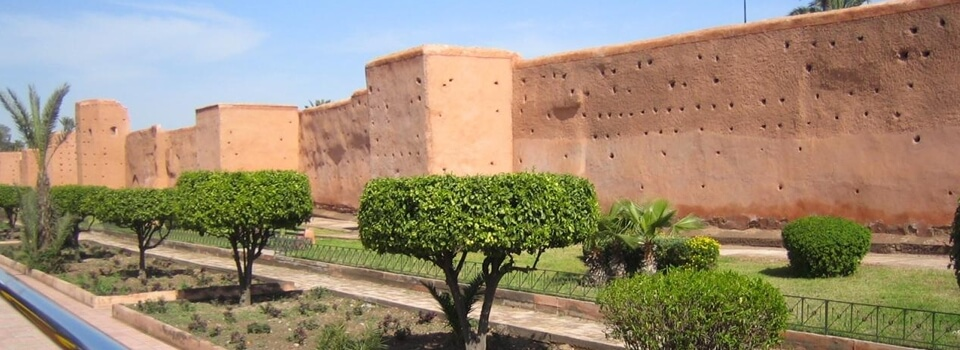 Medina-Mauer um die Altstadt, ca. 15 km lang