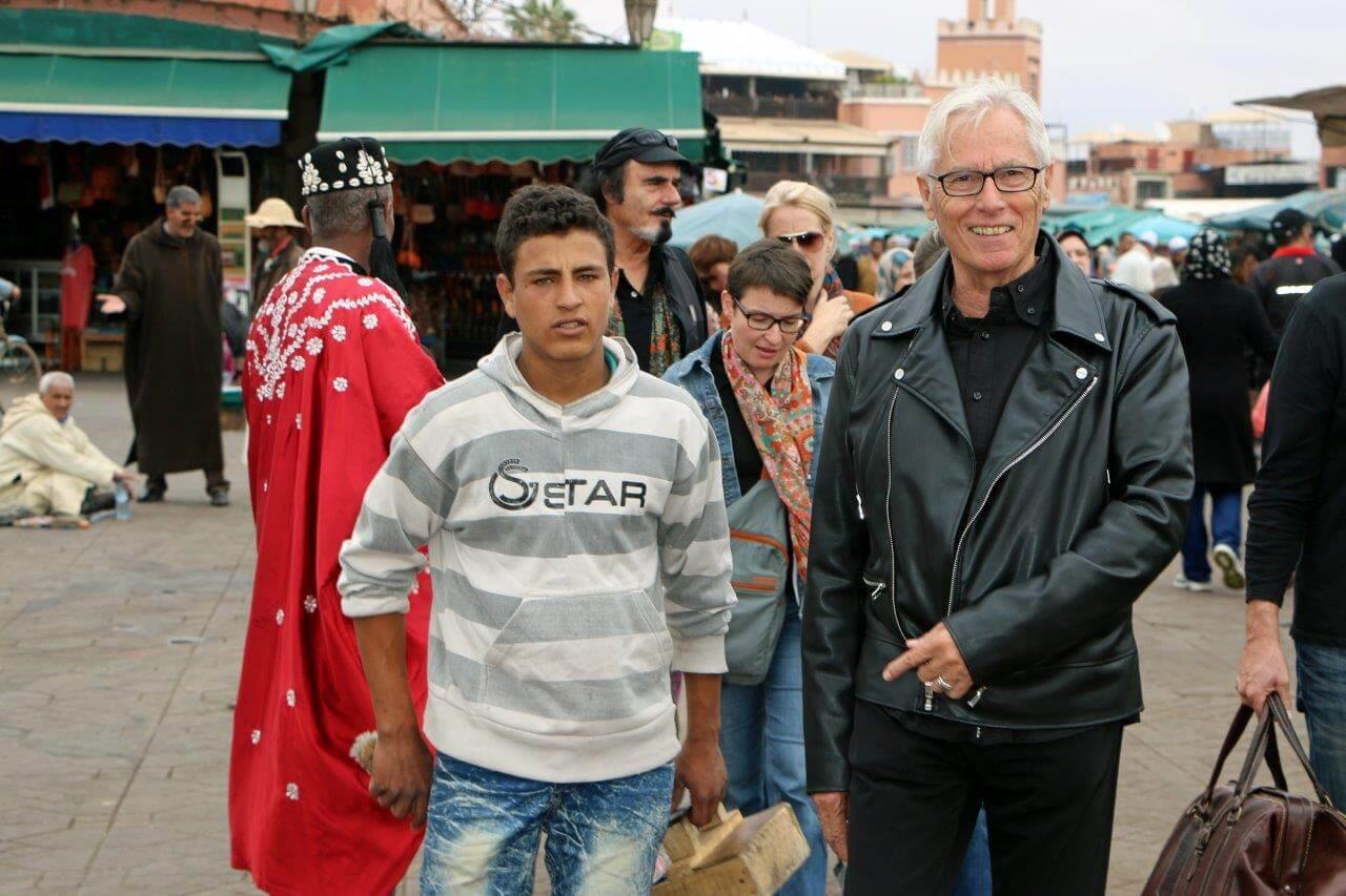 Spurensuche durch die Medina mit Herbert Kerz vom Riad La Maison Nomade in Marrakesch