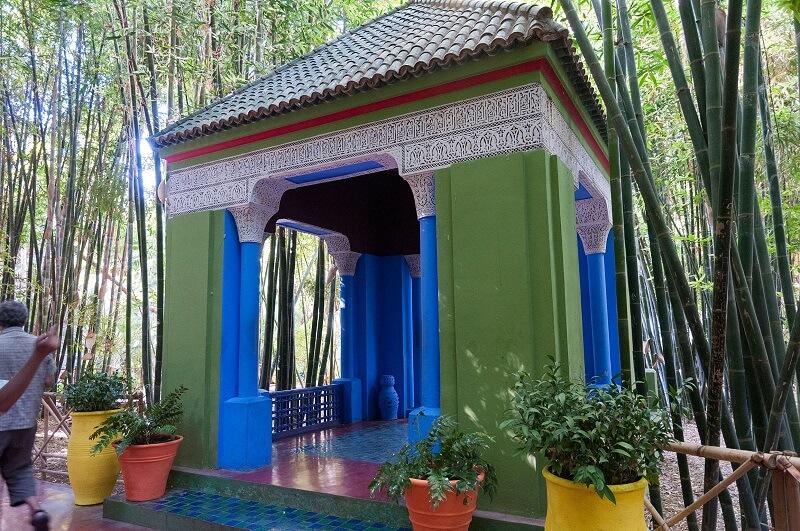 Mit dem Hotel La Maison Nomade zum Jardin Majorelle in der Neustadt von Marrakesch