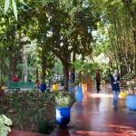Jardin Majorelle in der Neustadt von Marrakesch