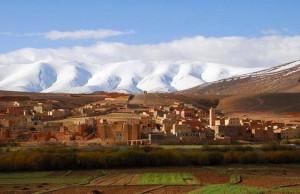Berberdorf am Hohen Atlas nur 40 km von Marrakesch entfernt