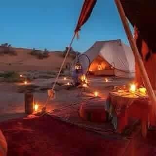 Mit dem Riad La Maison Nomade in das Wüstenbiwak