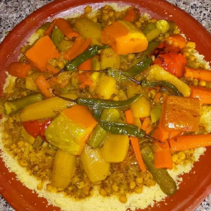 couscous-mit-gemuese-hotel-la-maison-nomade-marrakesch