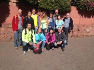 Marathonläufer 2014 des Riad La Maison Nomade in Marrakesch