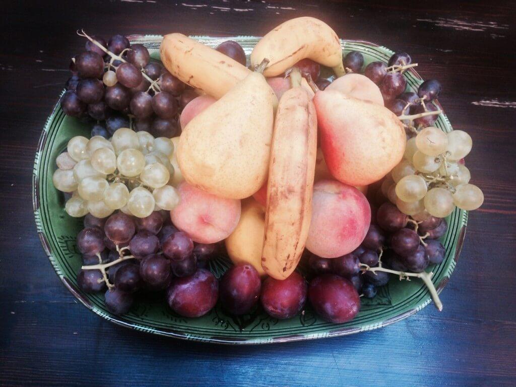 frisches Obst im Riad La Maison Nomade