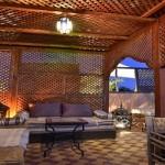 Detail Terrasse im Riad La Maison Nomade unter Deutscher Leitung