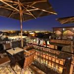 Dachterasse im 3. Stock vom Hotel La Maison Nomade Marrakech