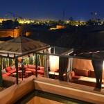 Berberzelt auf der Dachterrasse im 2. Stock Riad La Maison Nomade Marrakech