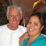 Herbert Kerz und Kalthoum, die Chefköchin im Hotel La Maison Nomade in Marrakesch
