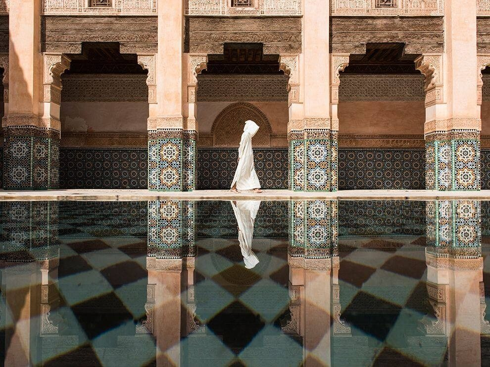Mit dem Riad La Maison Nomade zur Medersa Ben Youssef  - Koranschule in Marrakesch