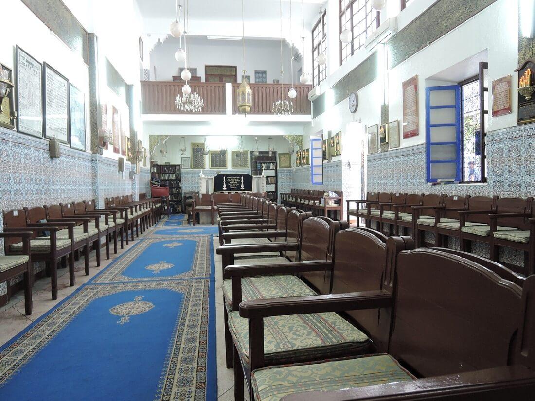 Synagoge in der Mellah von Marrakesch