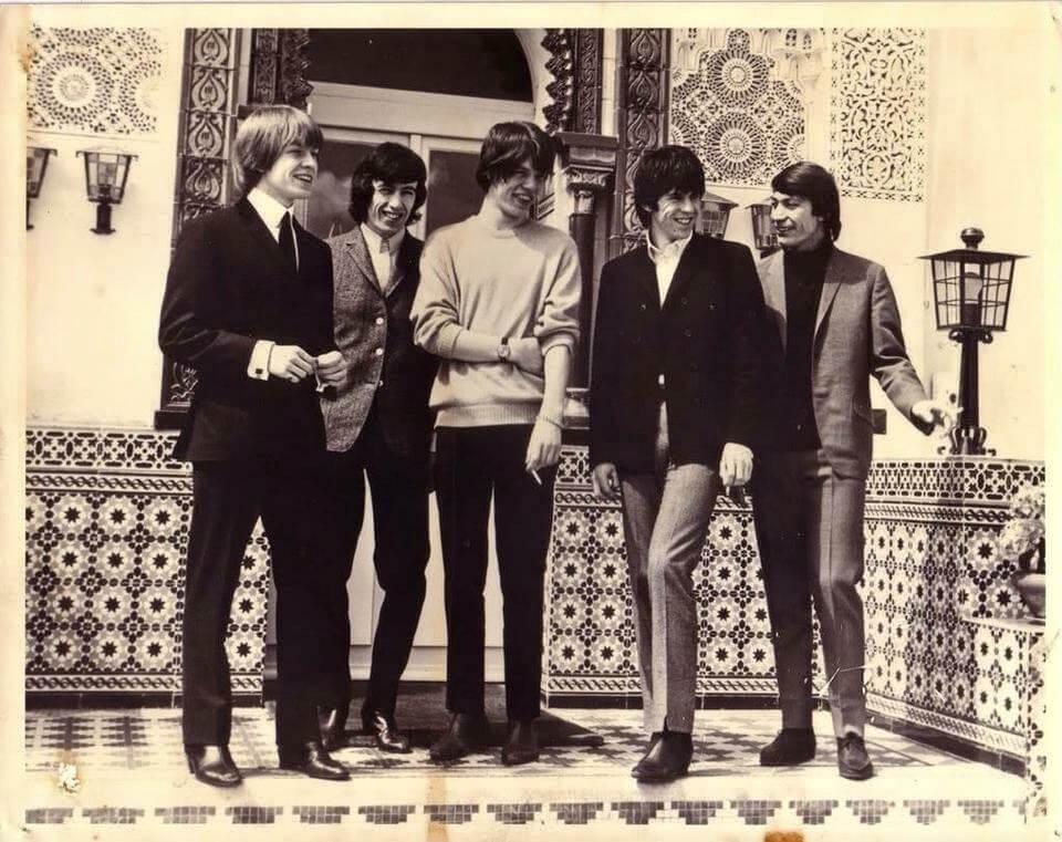Die Rolling Stones in Marrakesch