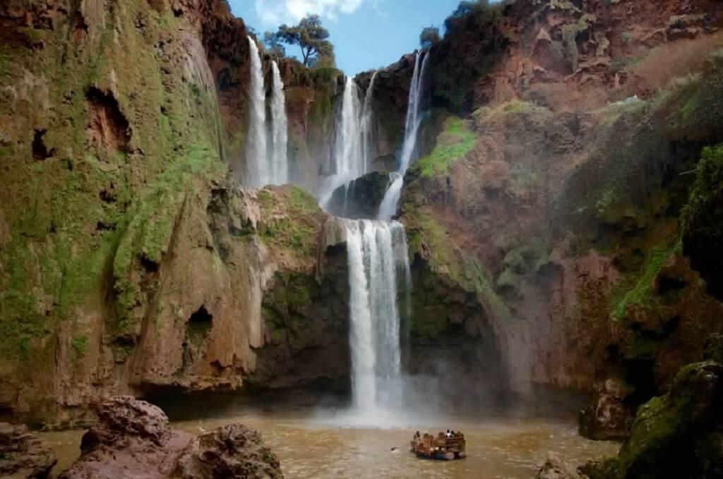 Herbstferien in Marokko mit dem Riad La Maison Nomade zu den Wasserfällen Ouzoud