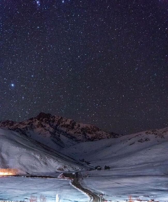 Skigebiet Oukaimden bei Marrakesch im Hohen Atlas