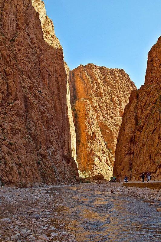 Aktivurlaub in Marokko in der Todra-Schlucht an der Straße der 1000 Kasbahs