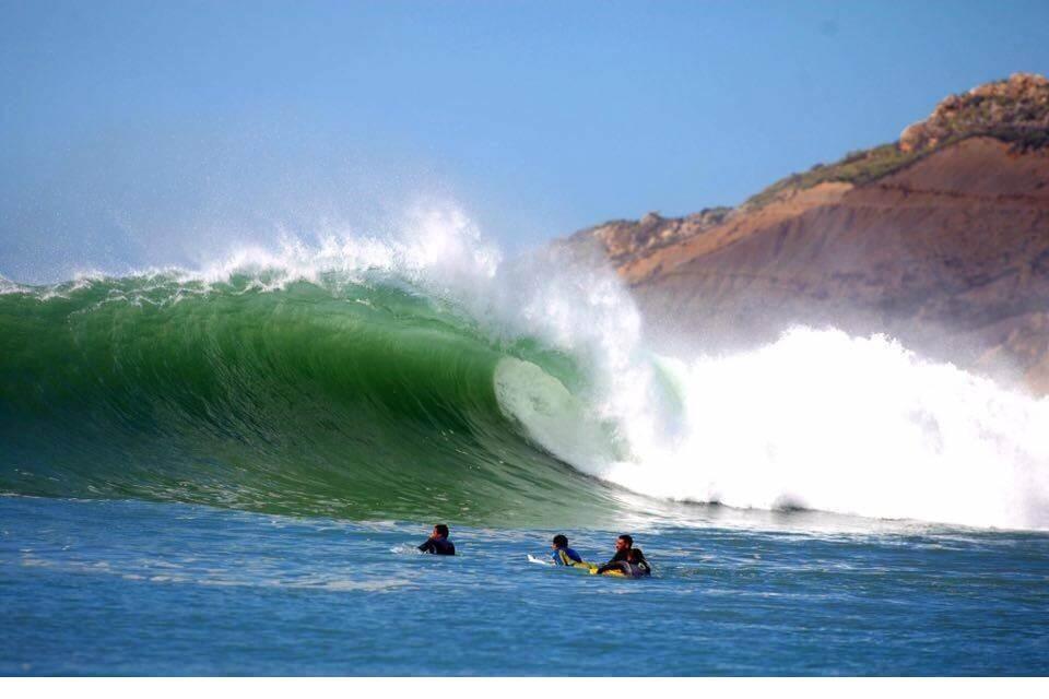 Wellenreiten vor Safi am Atlantik