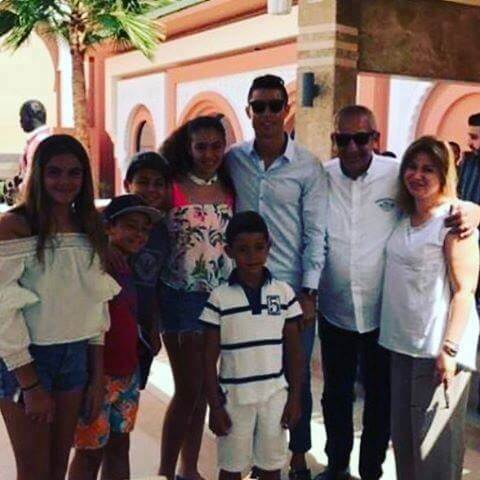 Christiano Ronaldo im April 2017 in Marrakesch