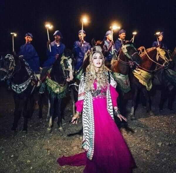Madonna in Marrakesch