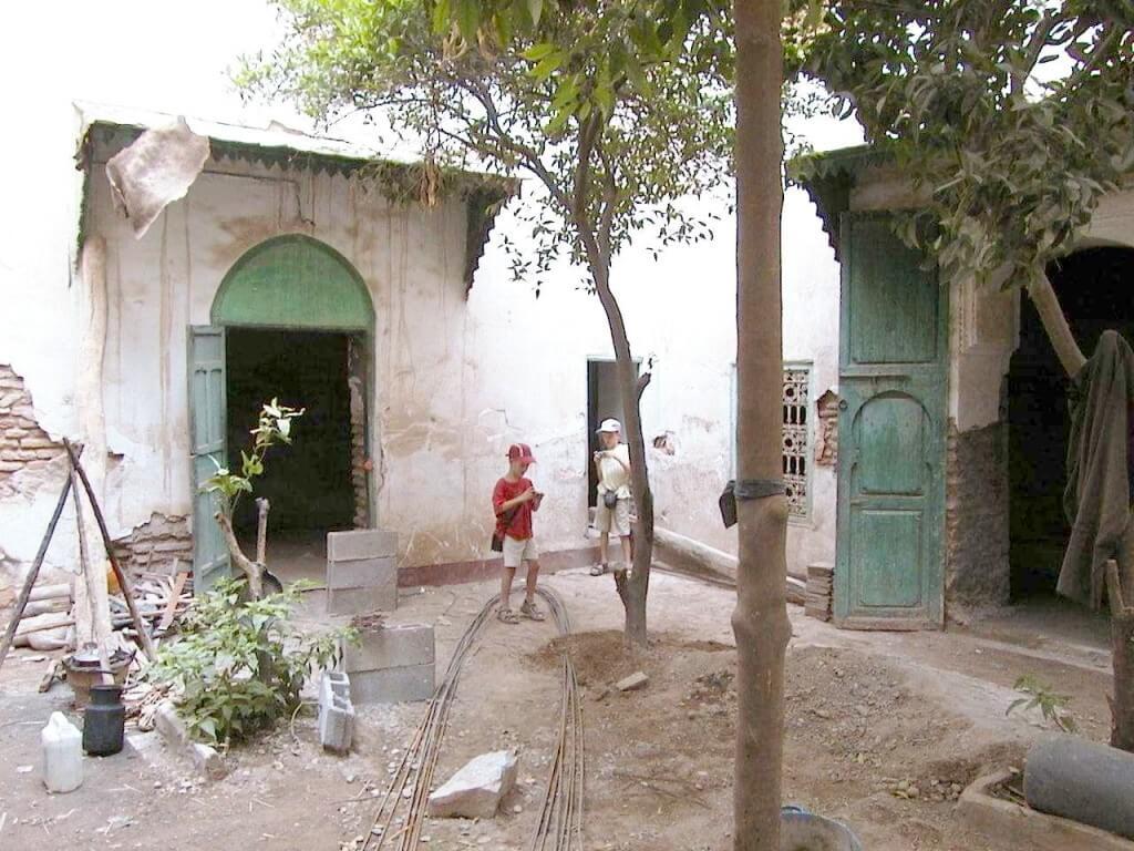 Riad La Maison Nomade in Marrakesch im Urzustand 2000