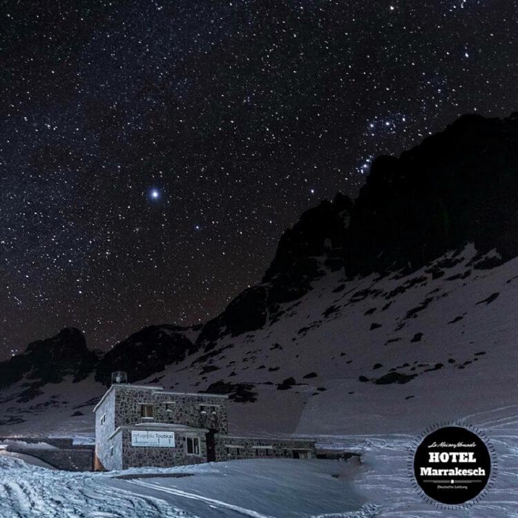 Übernachten im Refuge Toubkal auf Trekkingtour mit dem Riad La Maison Nomade