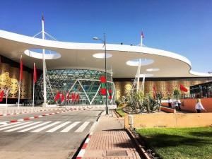 Flughafen Menara Marrakesch - neuer Anbau