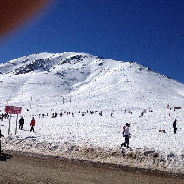 6 Skilifte bis über 3000 m im Hohen Atlas bei Oukaimeden