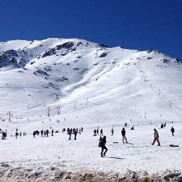 Mit dem Riad La Maison Nomade in das Skigebiet von Oukaimeden