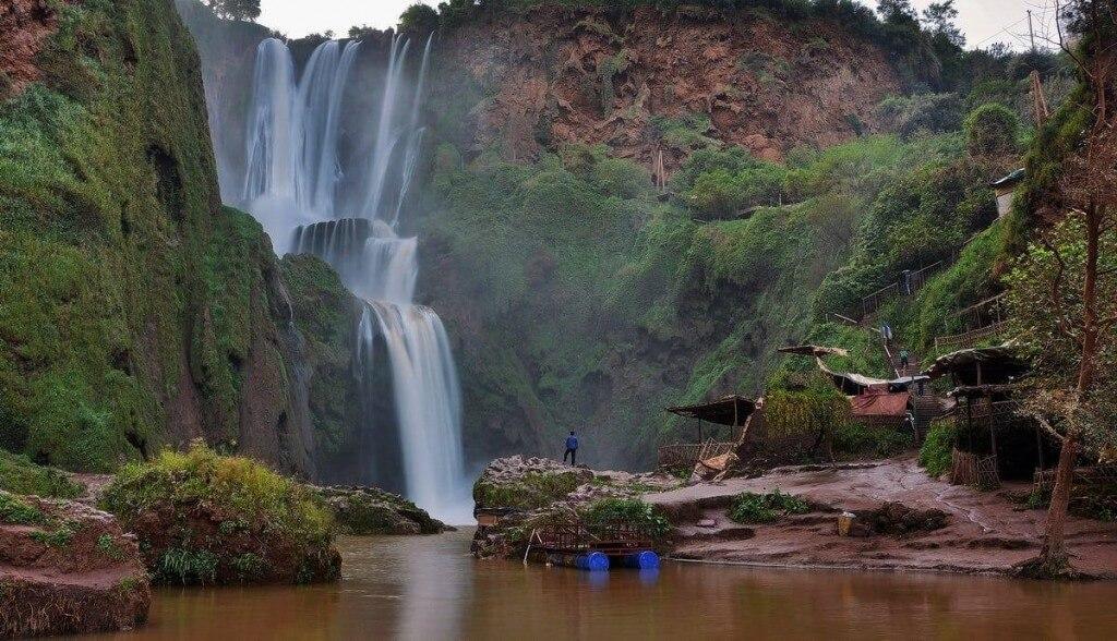 Cascades de Ouzoud - Wasserfälle von Ouzoud