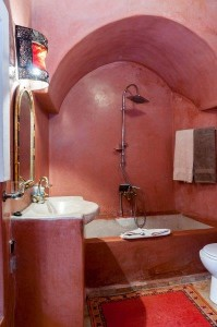 Badezimmer Hotel Lamaisonnomade