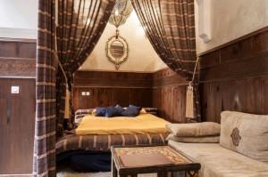 Zimmer Al Azraq im Riad La Maison Nomade Marrakech