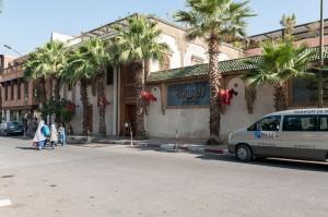 Auto in Marrakesch