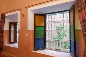 Fenster Marrakesch