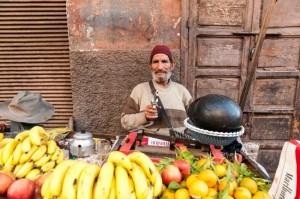 Obst verkaufen Marrakesch