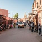 Der Stadtteil Sidi Benslimane in Marrakesch