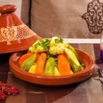 Tajine mit Gemüse im Restaurant La Maison Nomade