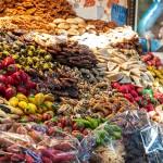 Gemüsemarkt im Stadtteil Sidi Benslimane in Marrakesch
