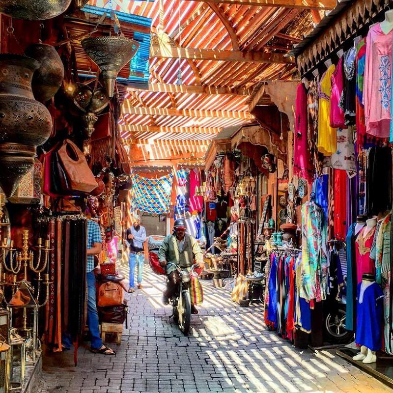 Mit dem Riad La Maison Nomade in den Basar von Marrakesch