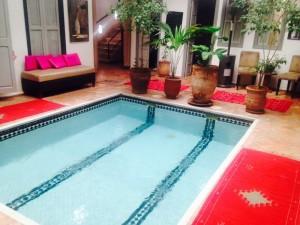 Mit dem Riad La Maison Nomade zum Hammam in Marrakesch mit Schwimmbad
