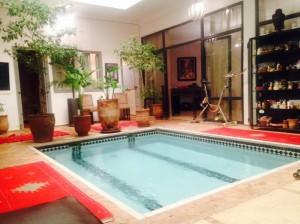 Hammam mit Schwimmbad und Massage in Marrakesch nur 10 min. vom Riad La Maison Nomade entfernt