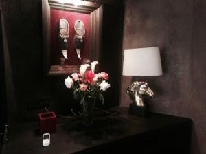 Bild und Blumen